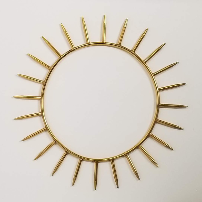 Krystaline 9 inch Sun Rings for sale by Linda Easthouse
