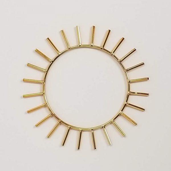 Krystaline Sun Rings for sale by Linda Easthouse