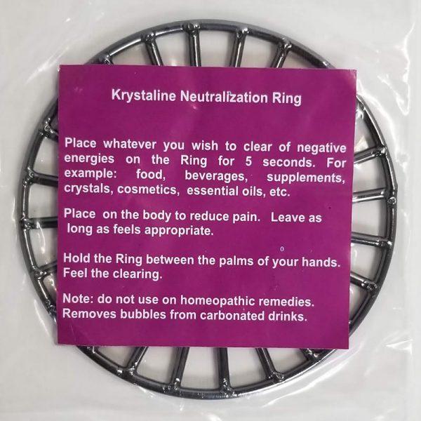 Krystaline Neutraliization Ring description
